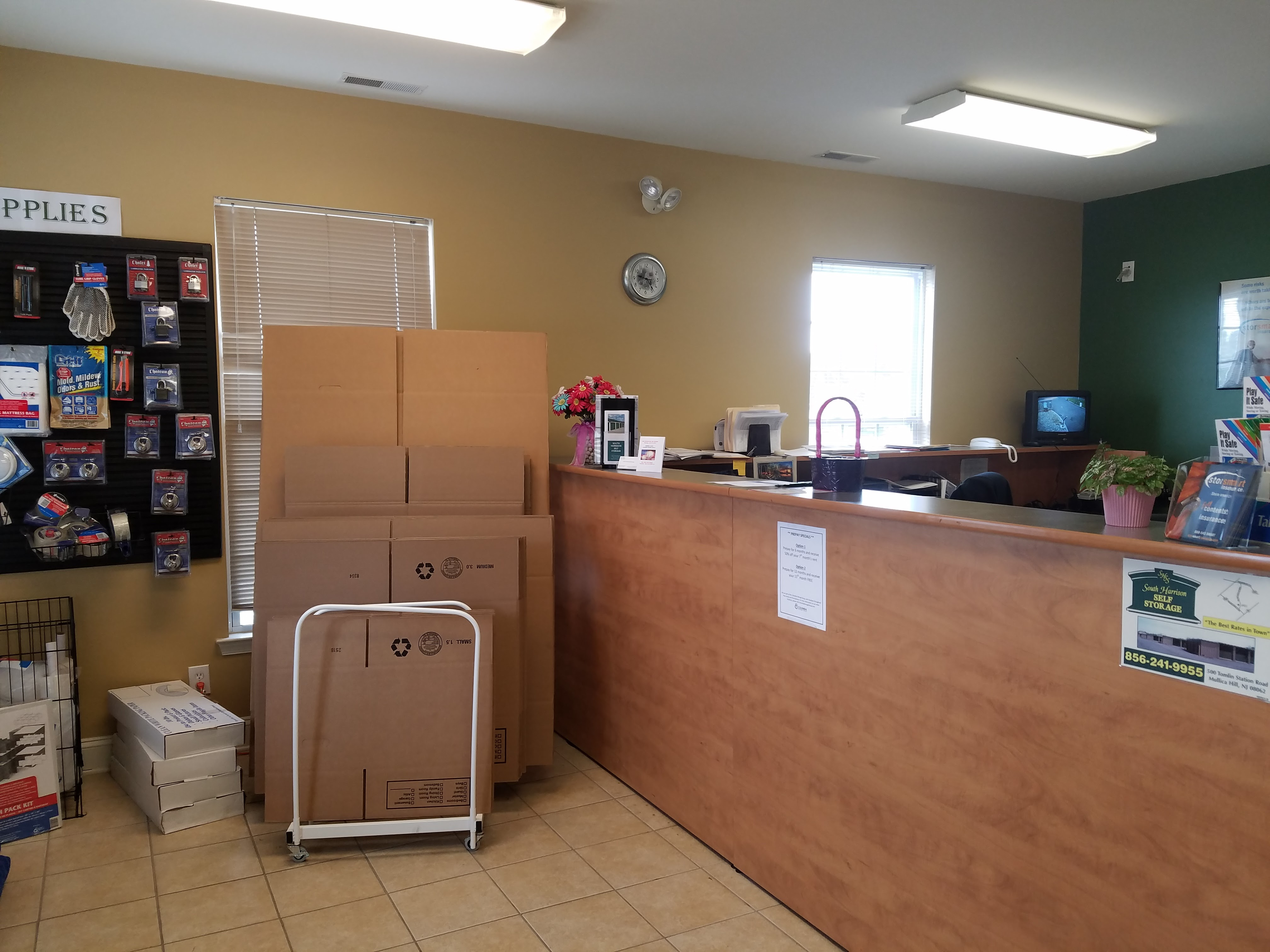 Moving Supplies and Boxes