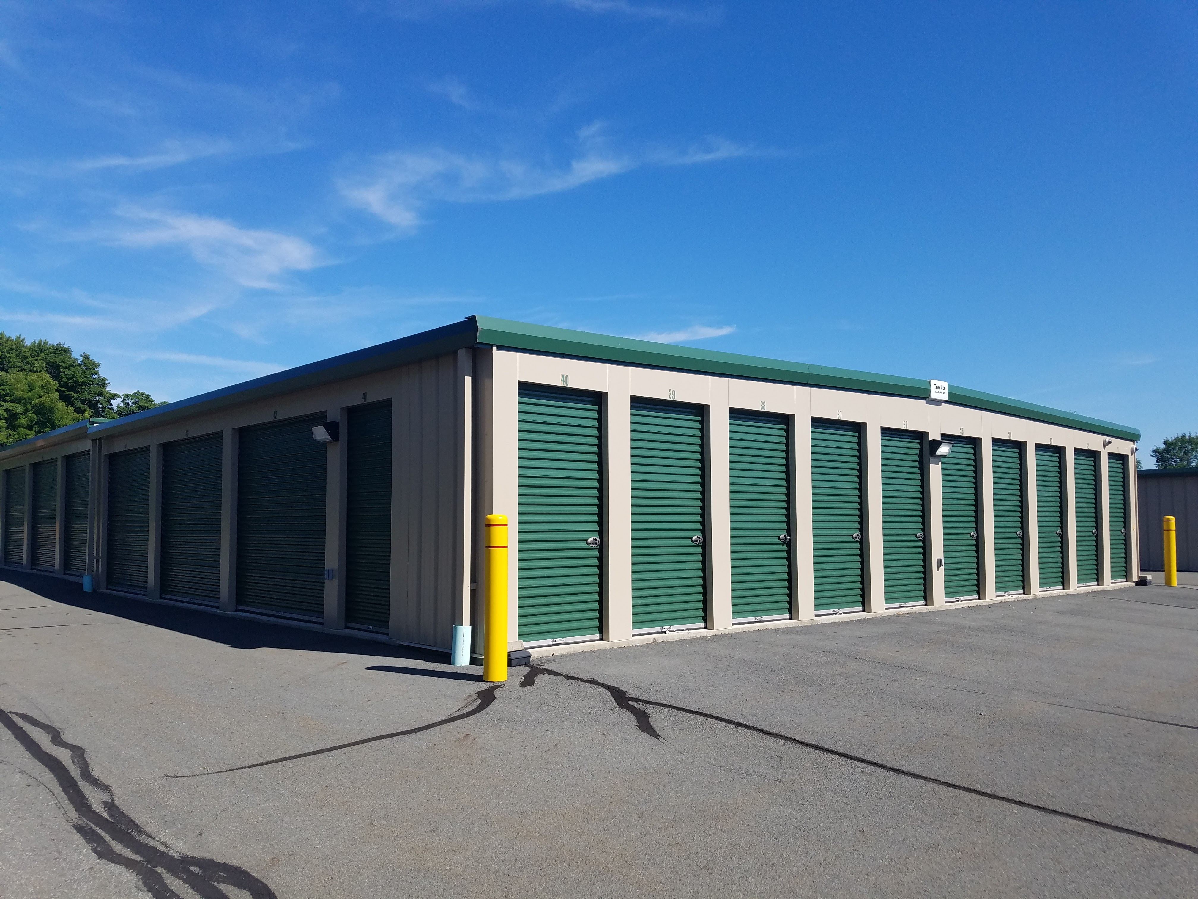 Secure Drive Up Self Storage Units