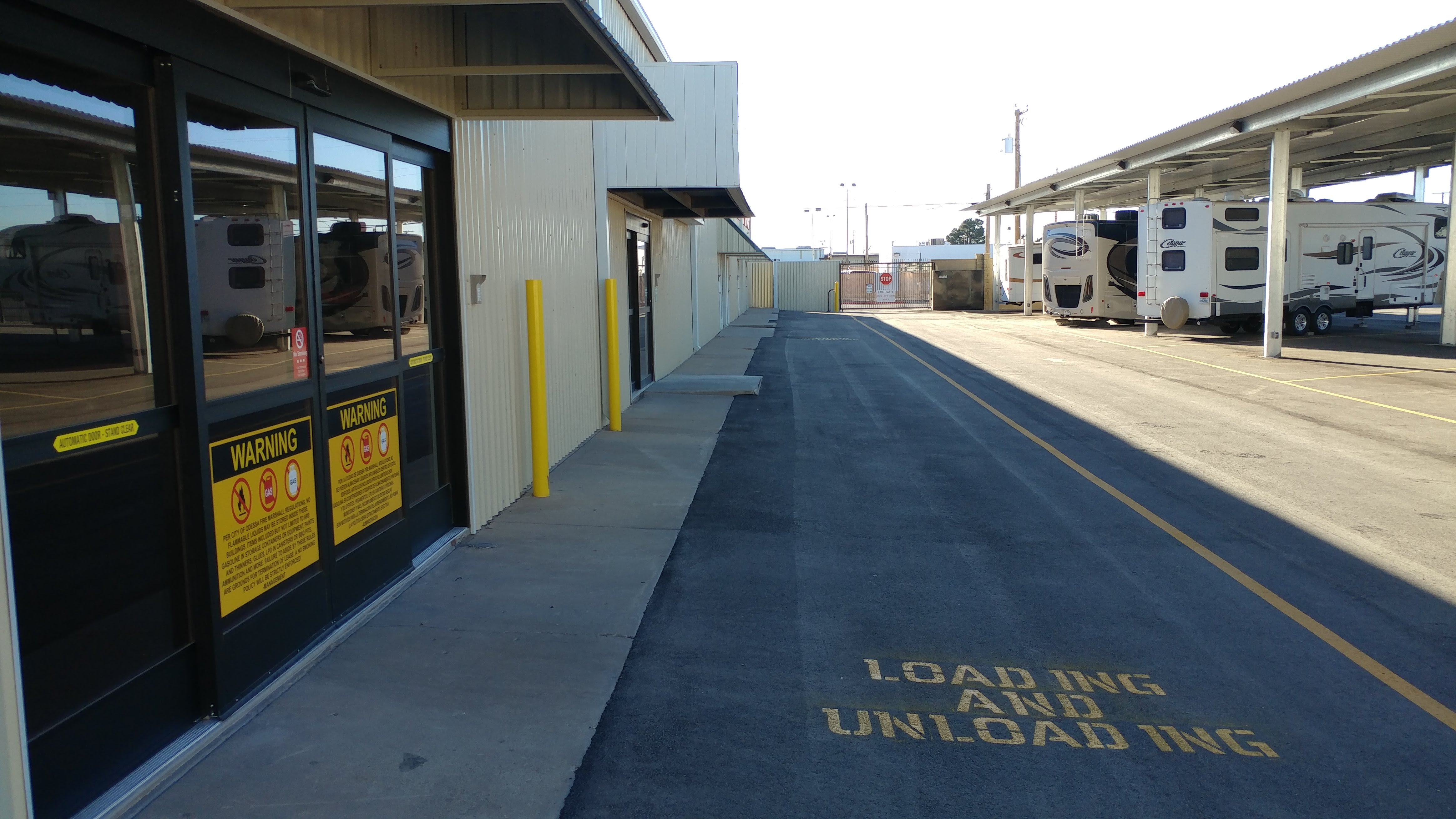 Drop By The Lockup Storage Services in Odessa, TX