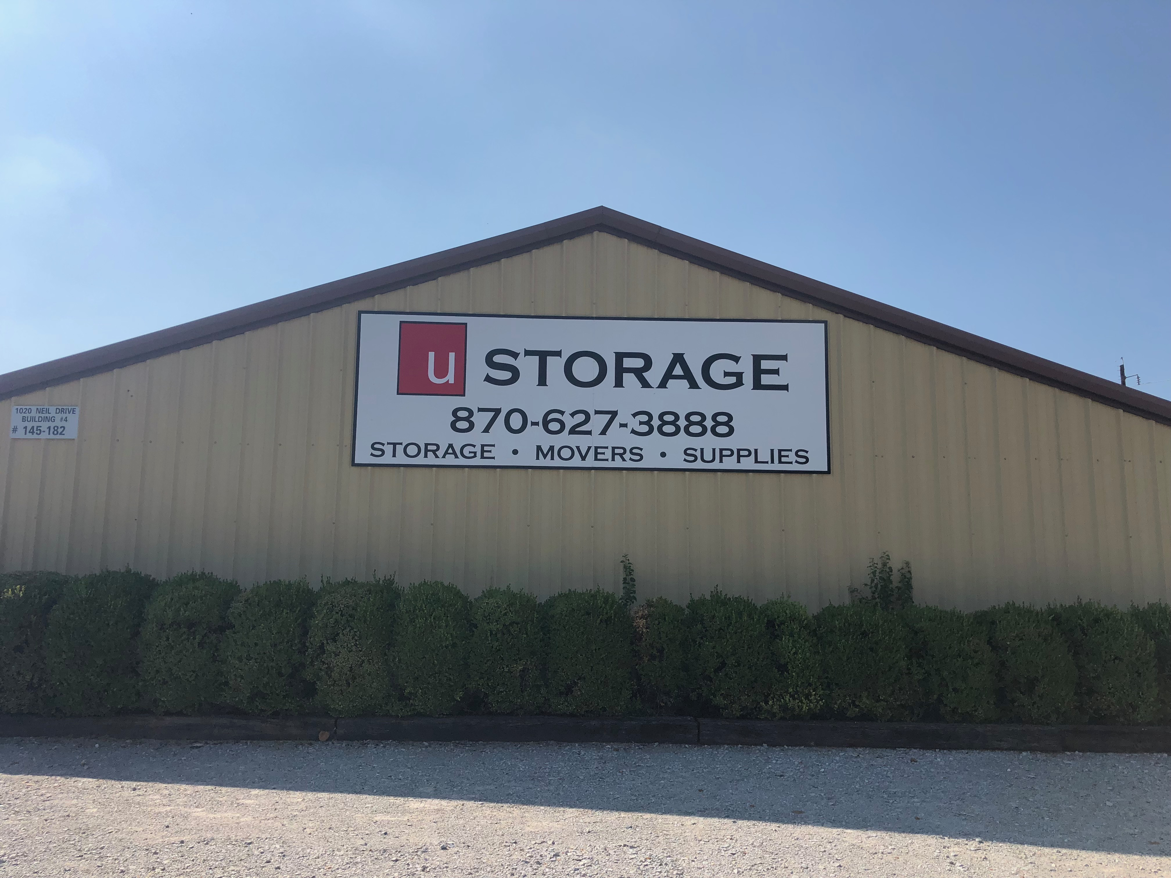 storage units in arkansas conway u storage and rv. Black Bedroom Furniture Sets. Home Design Ideas