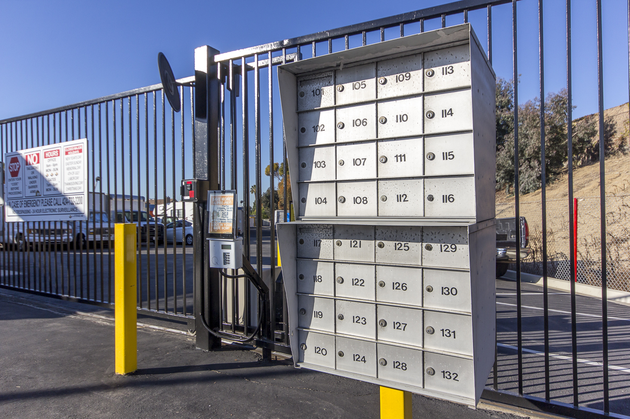 Gated and Secure Self Storage