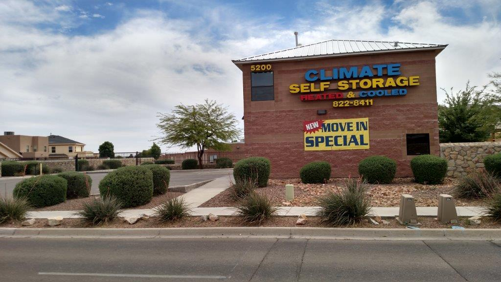 Climate Self Storage - Marcus