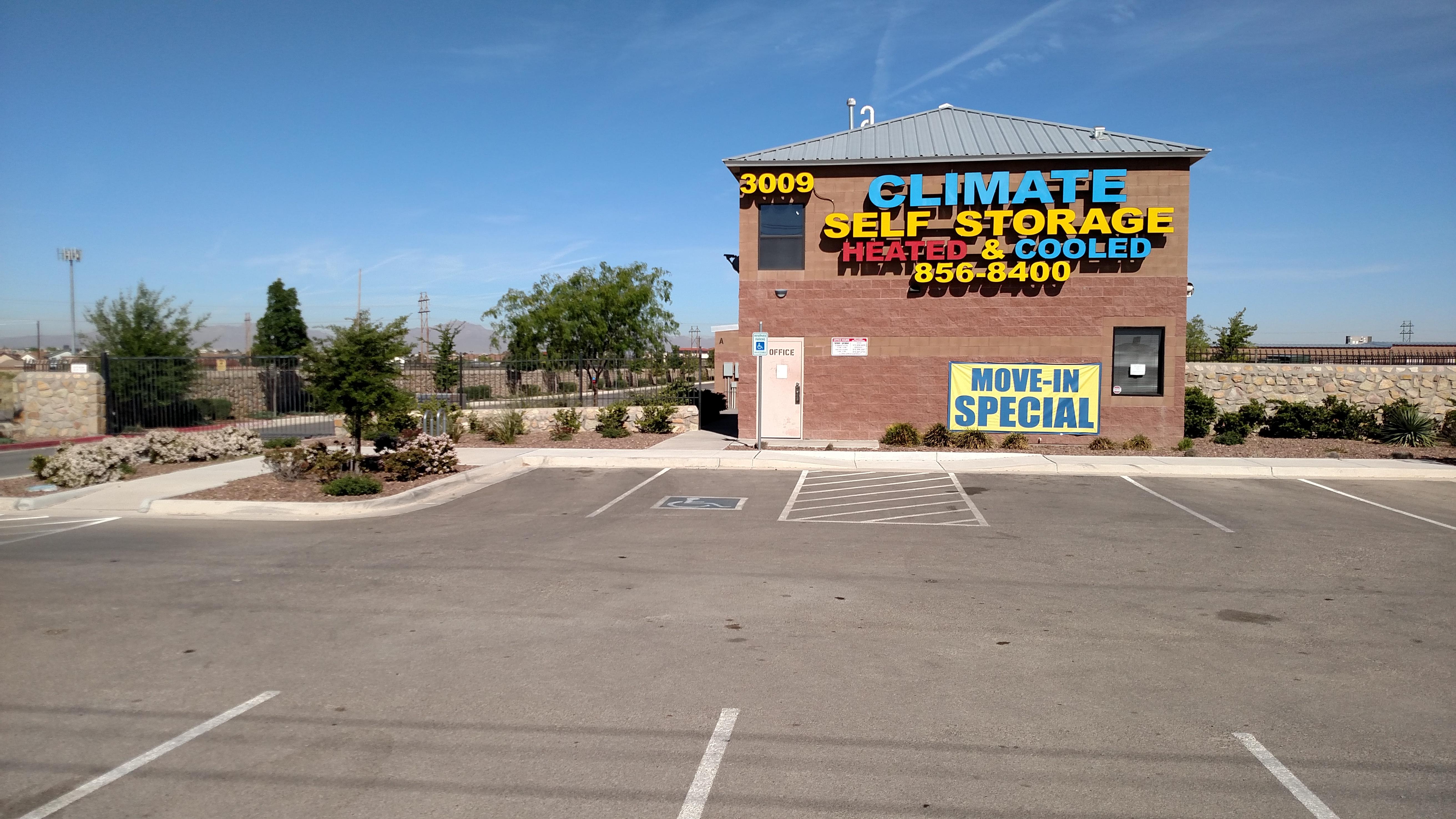 Self Storage in El Paso, TX