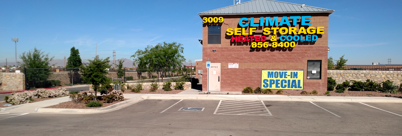 Self Storage in El Paso, TX